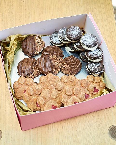Galletas de la pastelería Cookona en Barcelona