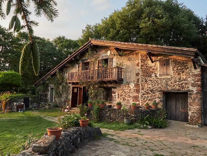 Casa rural Mas Els Plans en la Garrotxa